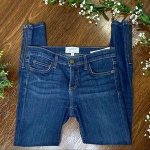 Current/Elliot | The Zip Stiletto Skinny Jeans